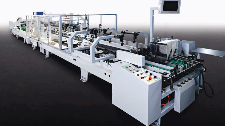 What is the packaging printing line from Heidelberg?