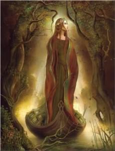 Gaelic Priestess