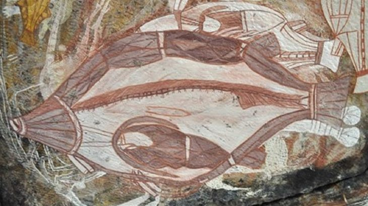 Nawarla Gabarnmang, the oldest cave painting in the world